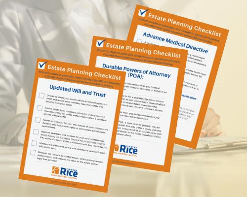 Estate Planning Checklist Image
